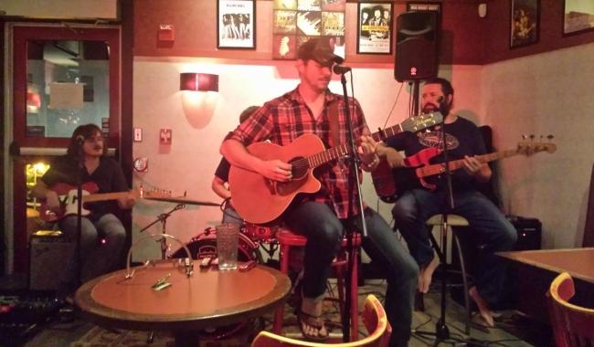 Jay Taylor at Jasper Hill Cafe & Bistro
