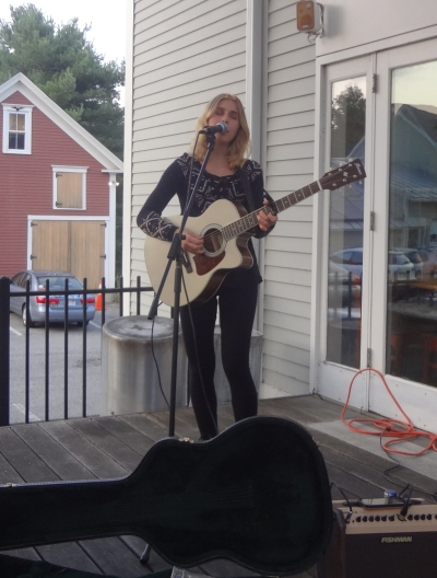 Sophia Ward at Twin Seafood