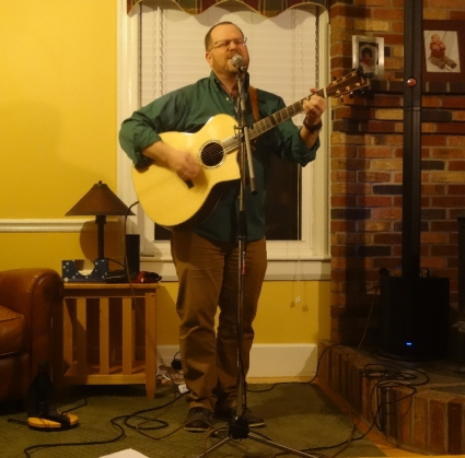 Rob Mattson at Upton House Concerts