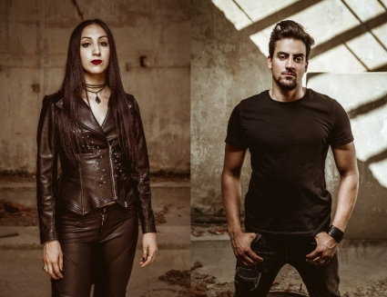 Nesrine Mahbouli and Youssef Aouadi