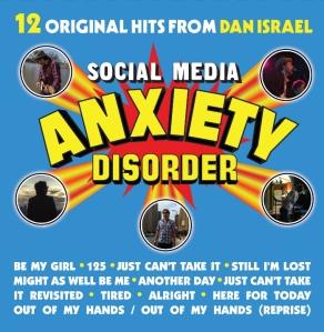 Dan Israel - Social Media Anxiety Disorder album cover