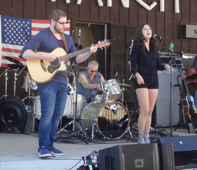 Meghan Lynch at Local CountryFest