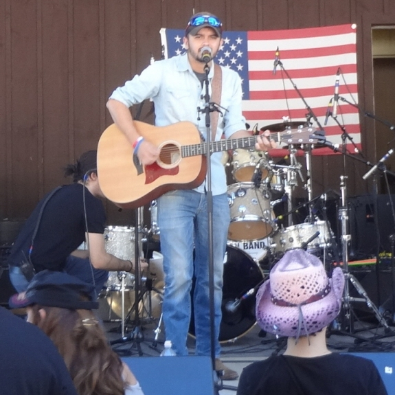 Tim Buono at Local CountryFest