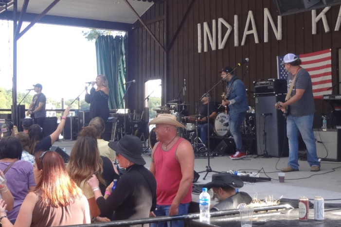 Annie Brobst Band at Local CountryFest