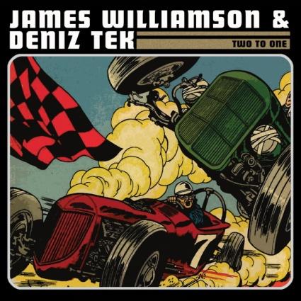 James Williamson & Deniz Tek - Two to One album cover