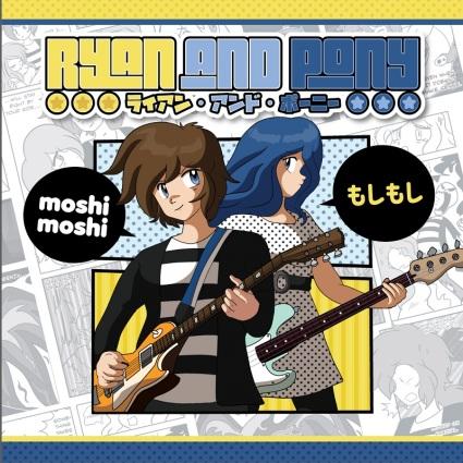 Ryan and Pony - Moshi Moshi album cover