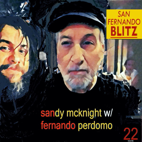 Sandy McKnight with Fernando Perdomo – San Fernando Blitz